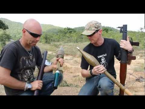 RPG - Steve Lee & Rob Marchment do a hands on review of the RPG7 and the B40. The objectiive is to blow up a car,Toyota 4 door, but its not as easy as it seems.It ...