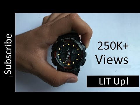How to toggle automatic light on G-SHOCK