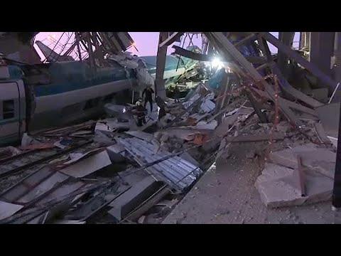 Τουρκία: Σιδηροδρομικό δυστύχημα στην Τουρκία – Τουλάχιστον 4 νεκροί…