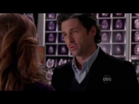 Grey's Anatomy - Derek Proposes to Meredith in the Elevator
