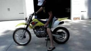 1. 2007 DRZ 125 L review