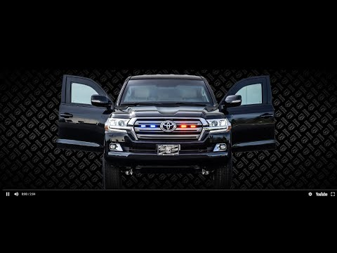 Alpine Armoring Armored Toyota Landcruiser GXR VR7 Certified