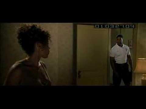 Denzel Washington + Sanaa Lathan scene (видео)