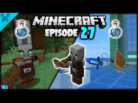 OUTPOST Pwnage! Houdini Python   Python's World (Minecraft Survival Let's Play S3 1.14)   Episode 27