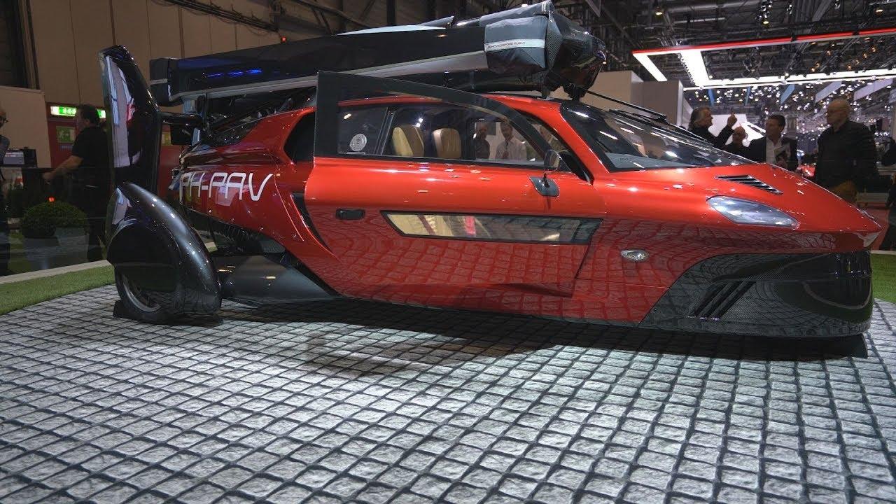 Το πρώτο Ιπτάμενο Αυτοκίνητο σε παραγωγή παρουσιάστηκε στο σαλόνι αυτοκινήτου της Γενεύης