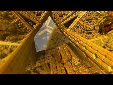 IFS fractal morph and flight (HD 1080p)