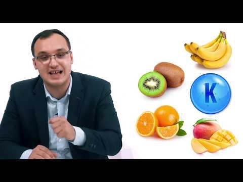 Hypokalemia: Foods high in potassium