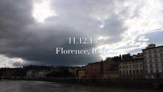 11.12.13 - Florence, Italy Timelapse // #BSQUAREDITALIA