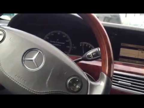 2008 W221 Mercedes S550 manually closing the sunroof.