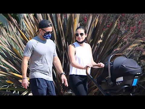 Lea Michele And Hubby Zandy Reich Are Absolutely Loving Parenthood