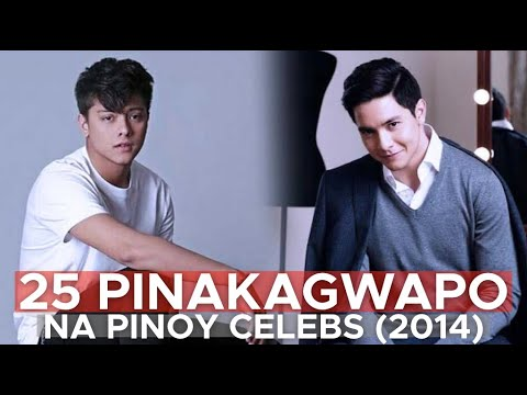 25 PINAKAPOGING PINOY CELEBRITIES NG 2014 (Pogi Kame By Fifth Dynamics)