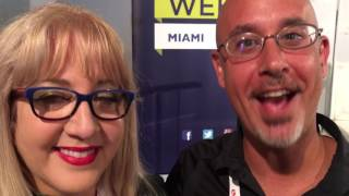 Steve Green #foodiechats at Social Media Week Miami #smwmismi with Lori Moreno