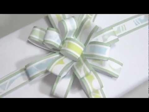 Cómo hacer un moño de papel para regalos