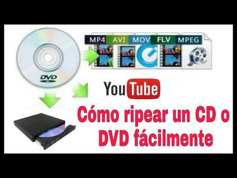 CÓMO COPIAR (RIPEAR) UN DVD, CD O BLU RAY EN TU PC FÁCILMENTE