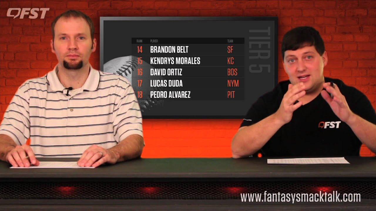 2016 Fantasy Baseball First Base Rankings thumbnail