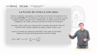 Microeconomía II - El Coste De La Producción (2) - Alfonso Rosa García