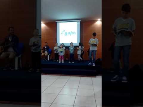 Ministério Infantil Da Igreja Batista Àgape De Entre Rios de Minas(1)