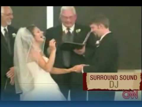 Bride Loses it during her ceremony - The Funniest Wedding Blooper