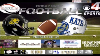 Rio Hondo @ Raymondville Football Game (Audio Broadcast)
