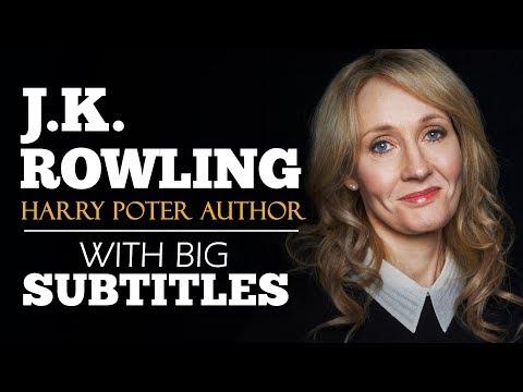 ENGLISH SPEECH | JK ROWLING: The Benefits Of Failure (English Subtitles)