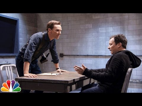 Benedict Cumberbatch and Jimmy Fallon Hilariously Perform a Dramatic Scene Using Mad