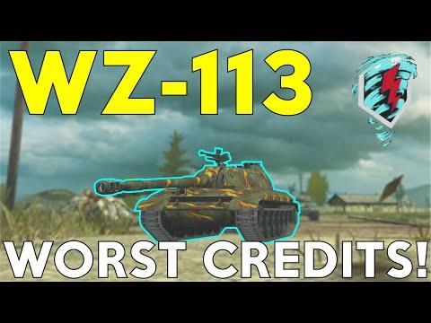 WOTB | WZ-113 | WORST CREDITS!