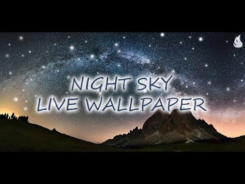 Video of Night Sky Live Wallpaper