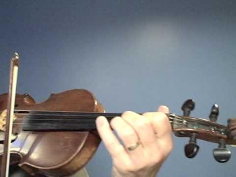 violin. Tocar de oido.  video 1