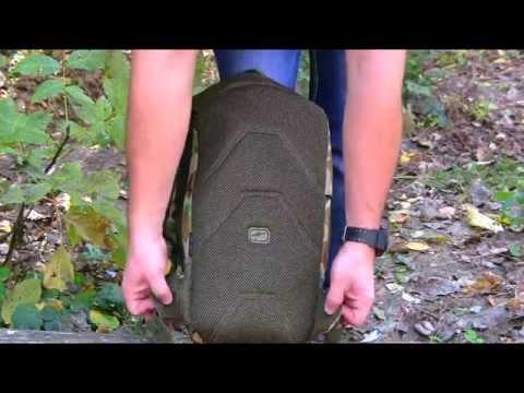 Відео огляд міського рюкзака Caribee Patriot 18 Auscam