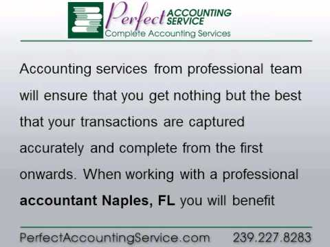 Accountant Naples, FL — Choosing a Professional Team