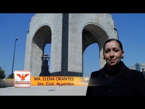 Murió la democracia en México - María Elena Orantes