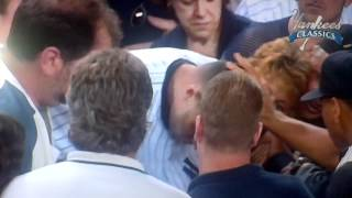 Derek Jeter's famous catch against the Red Sox