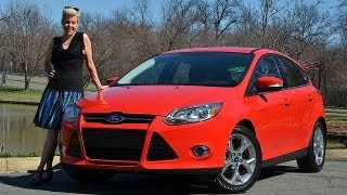 Ford Focus 2012 Test Drive&Car Review By RoadflyTV With Emme Hall