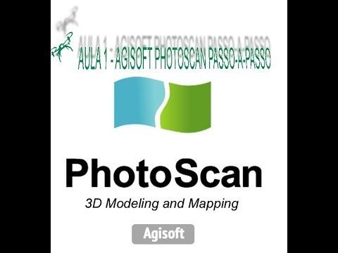 AULA 1 - PROCESSAMENTO PASSO-A-PASSO AGISOFT PHOTOSCAN