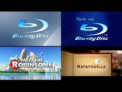 Pixar Short Films Collection Volume 1 (2007) Blu-ray Disc trailer reel (1080p HD)