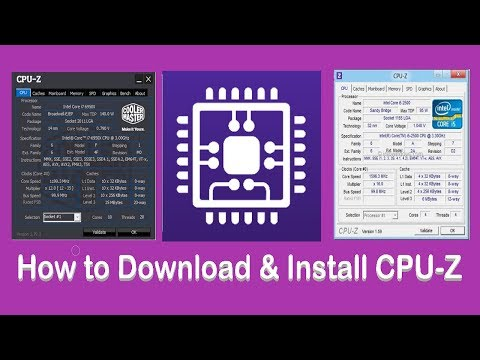 How to Download & Install CPU-Z on Windows 10 - Easy Download