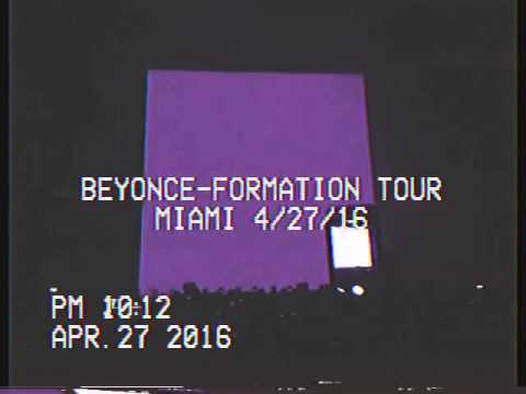 Beyonce Tribute To Prince & More in Miami!
