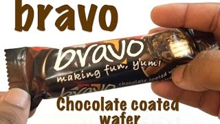 Snackinworld reviewing the Bravo which is a Chocolate Coated Wafer Bar with Cereal Crispies Buy Twix Cookie bar candy - https://goo.gl/qJfTem Buy Twix Coconu...