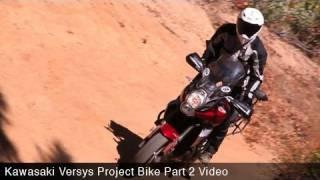 3. MotoUSA Project Bike:  Kawasaki Versys Part 2