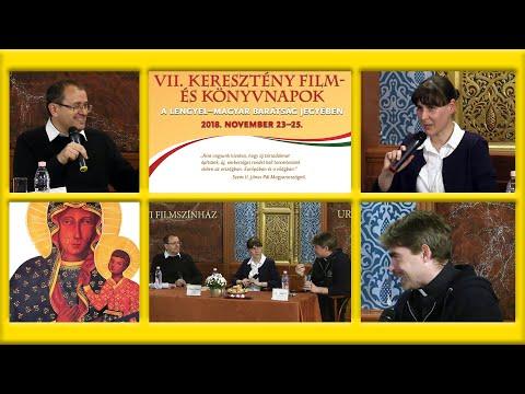 2019-01-09 VII. Keresztény film- és könyvnapok - Beszélgetés az Ignác című filmről
