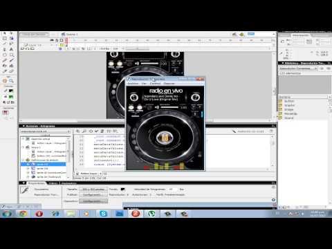 Reproductor de radio online editable