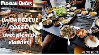 Video Un BARBECUE coréen avec plein de viandes! - VLOG #303 MP3, 3GP, MP4, WEBM, AVI, FLV Juni 2018