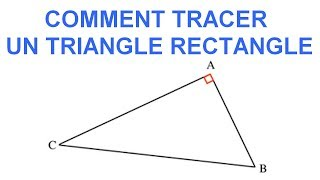 Maths 6ème - Les Bases De La Géométrie : Le triangle rectangle Exercice 16