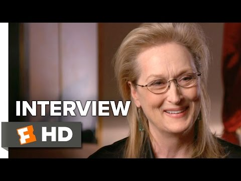 "Meryl Streep Interview for ""Florence Foster Jenkins"" Movie"