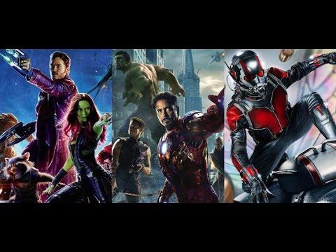 Top 13 Marvel Cinematic Universe elokuvat