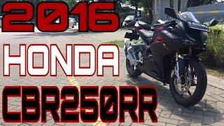 Video MY NEW BIKE! 2016 Honda CBR250RR! (FULL REVIEW) MP3, 3GP, MP4, WEBM, AVI, FLV April 2017