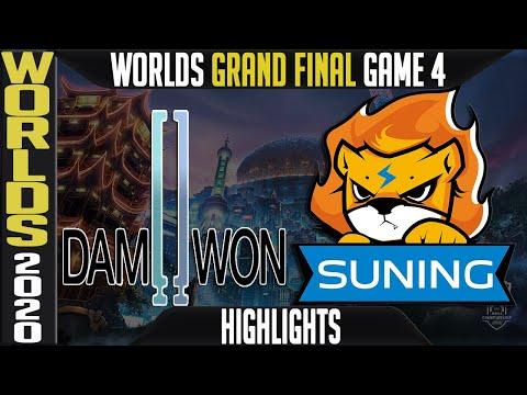 DWG vs SN Highlights Game 4 | GRAND FINAL Worlds 2020 Playoffs | Damwon Gaming vs Suning G4