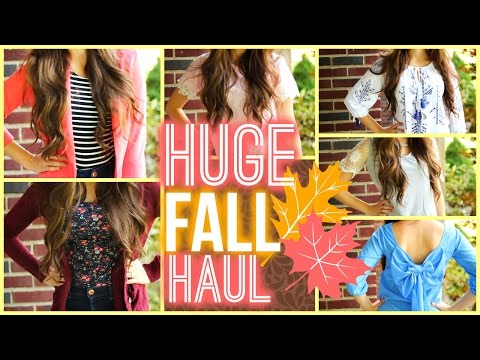 haul - YAYAYAYAY, new clothing haul!! What's better is that its for my favorite season, Fall! GIVE ME YOUR THUMBS IF YOU LOVE MY HAULS! Let's try to get it to 1000 likes! NewDress: http://www.newdress....