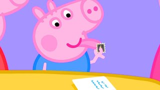Video Peppa Pig Official Channel   George Pig Uses Grandpa Pig's Rare Stamp Collection MP3, 3GP, MP4, WEBM, AVI, FLV Agustus 2019
