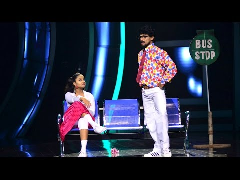 D 4 Dance Reloaded I Ajith & Swathy - Old is gold round I Mazhavil Manorama